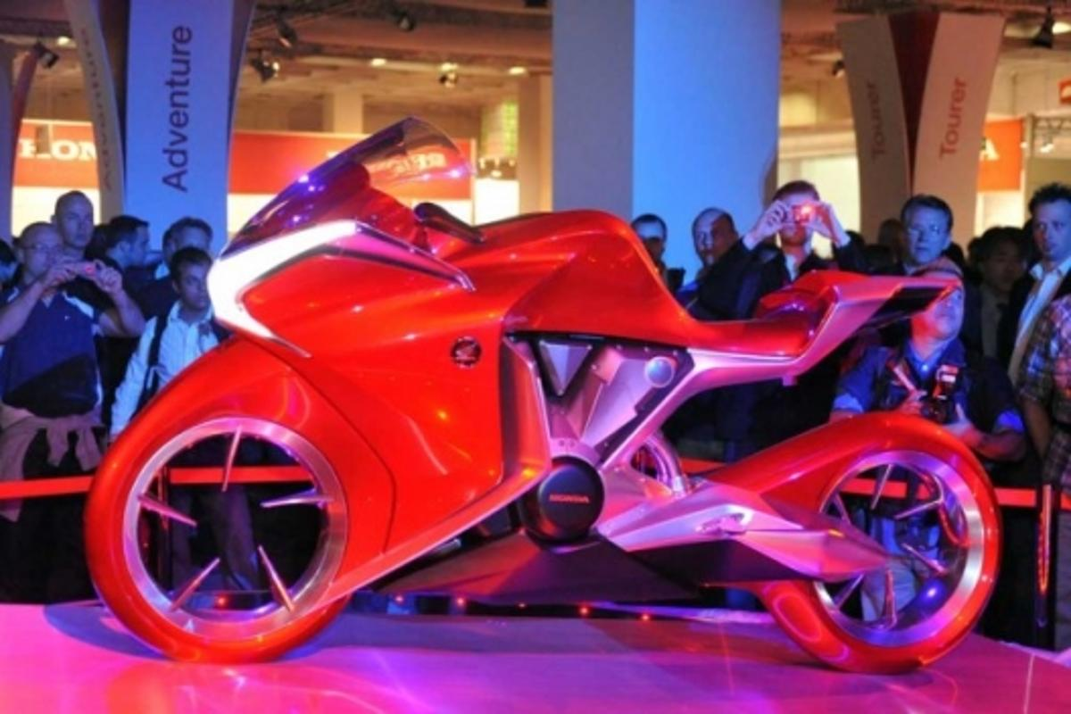 Honda's V4 Concept Model