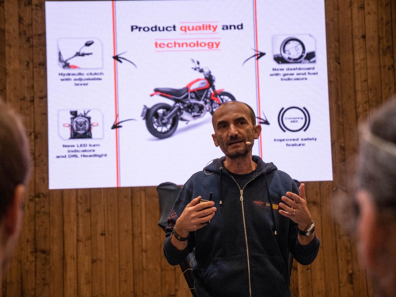 Ducati boss Claudio Domenicali launches three new Scrambler variants