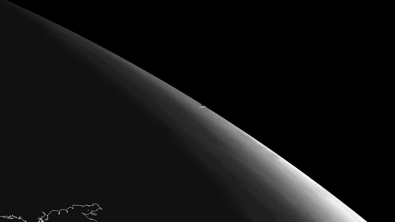Vapor trail of the Chelyabinsk meteor (Image: Eumetsat)
