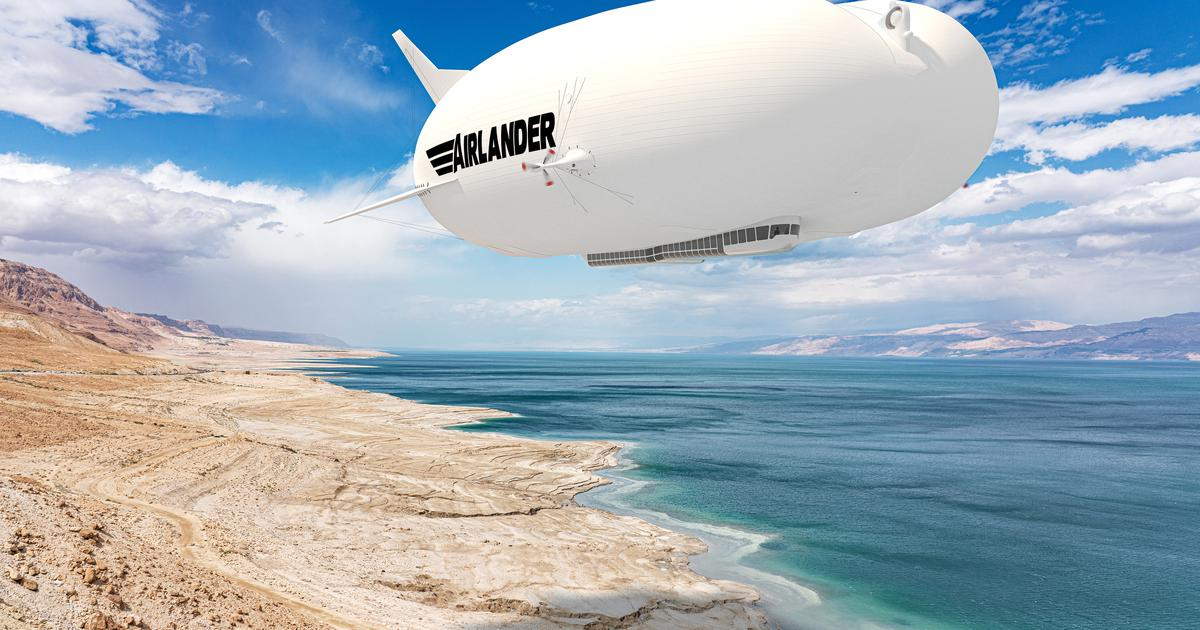 Production model of Airlander 10 will be sleeker and more efficient