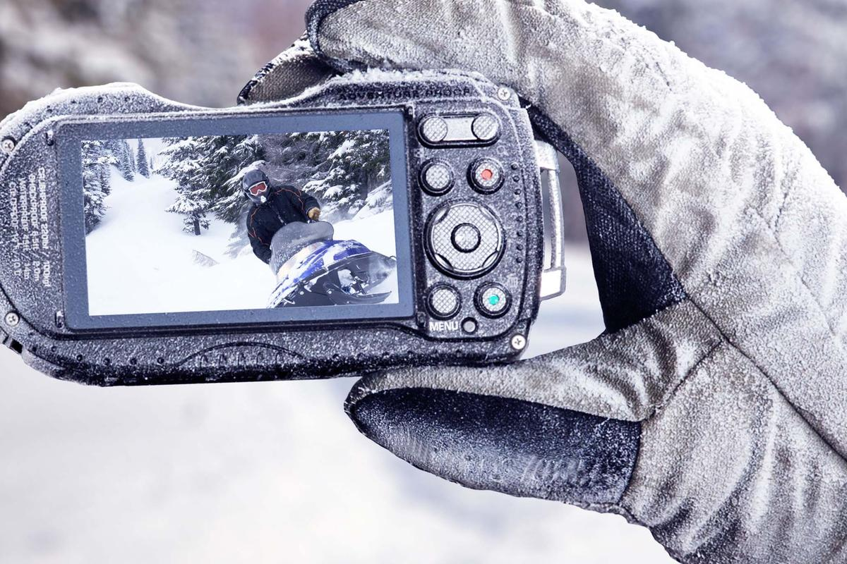 The WG-4 GPS is the new top-of-the-range tough camera from Ricoh
