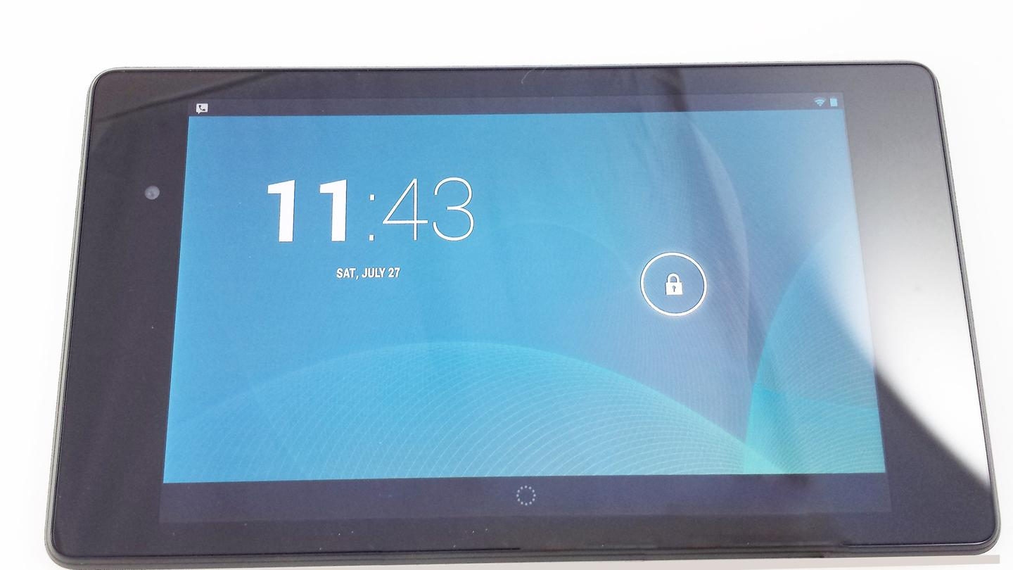 The Nexus 7 is the first device to ship with Android 4.3