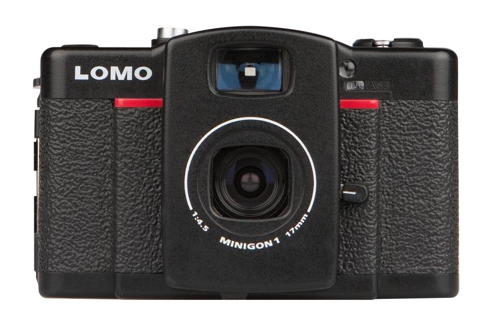 The new LOMO LC-Wide analog film camera with ultra-wide-angle lens and a choice of three exposure formats