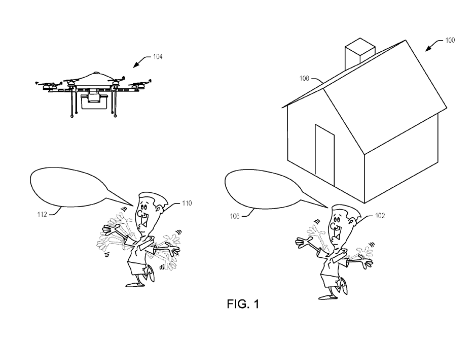 If the latest patient issued to Amazonis anything to go by, perhaps its drones will be waved down by customers awaiting their deliveries