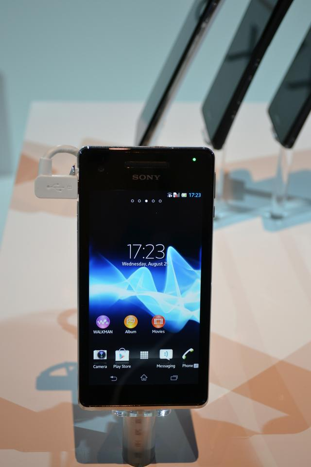 The Xperia V with 4.3-inch display