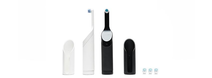 """Be"" is a quite brilliant battery-free powered toothbrush that uses kinetic energy from a simple twisting motion"