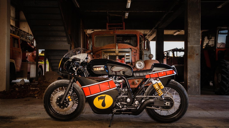 The Missing Piece, a custom XJR1300 by Jigsaw Custom Motorcycle of Greece