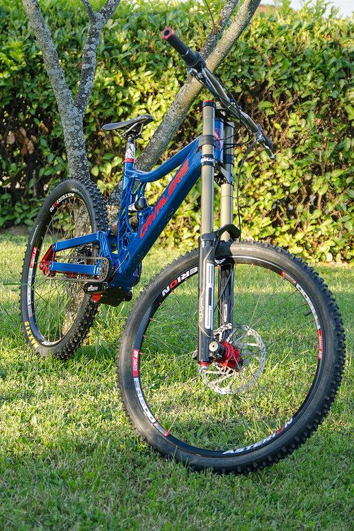 The Cavalerie Falcon downhill bike