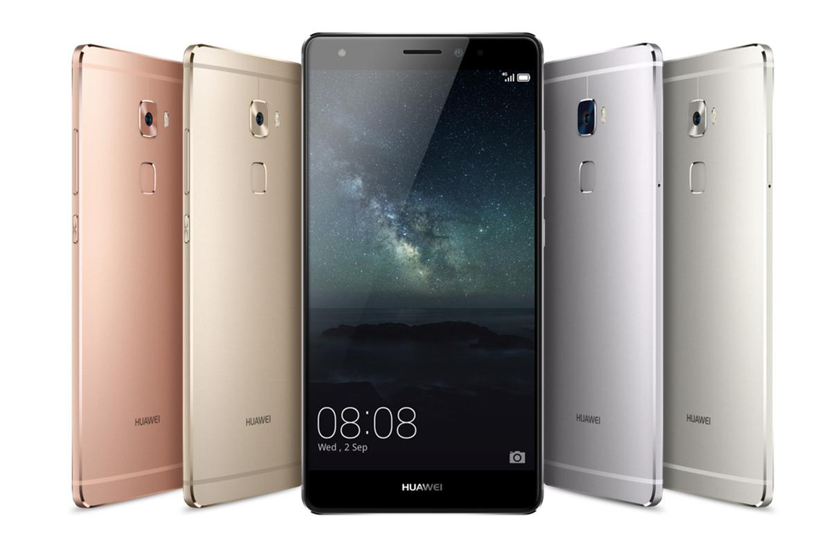 The Mate S is Huawei's latest flagship phone
