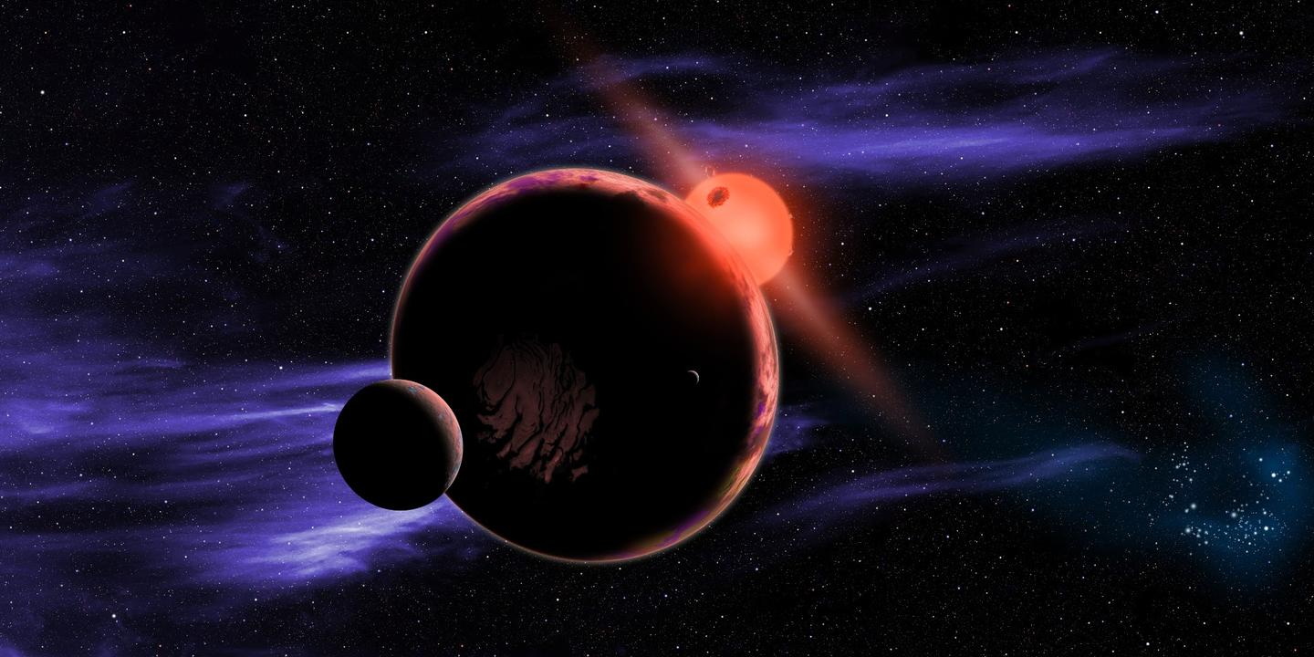 Life is most likely to develop in the future aroundsmaller red dwarfstars