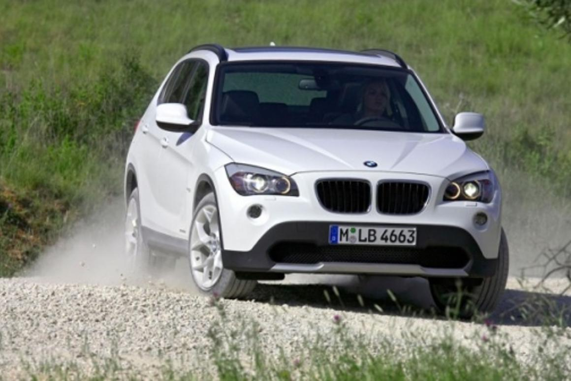 The X1 offers BMW's four-wheel-drive technology in a compact SUV