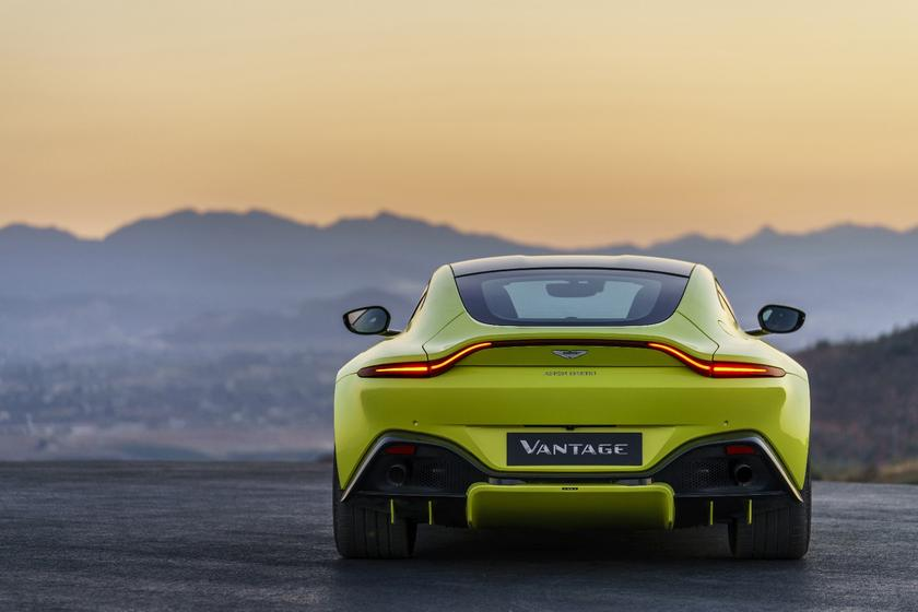 The 2018 Aston Martin Vantage is here, and it won't be
