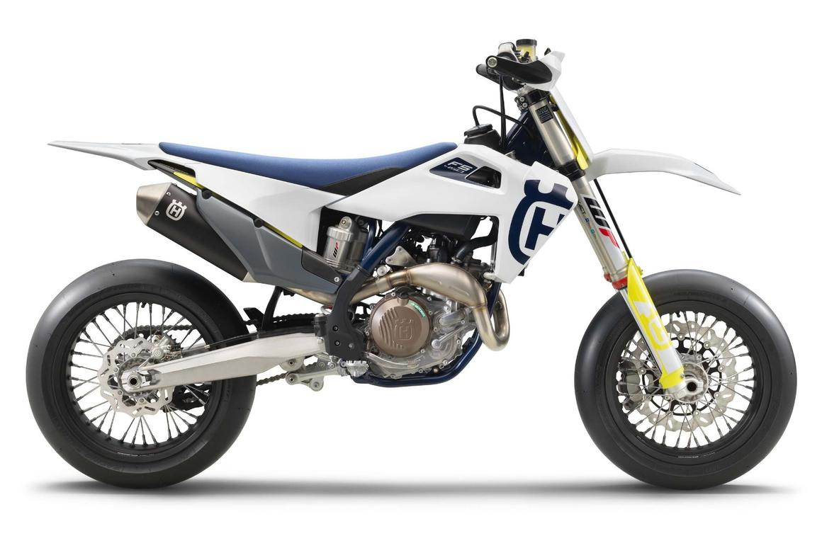 The Husky FS 450 factory supermoto is competition-ready straight out of the box