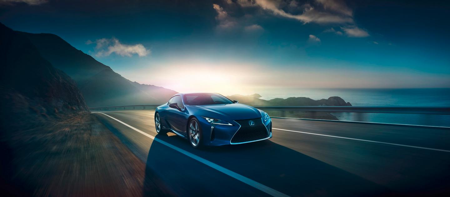 The LC 500h will make its debut at the 2015 Geneva Motor Show