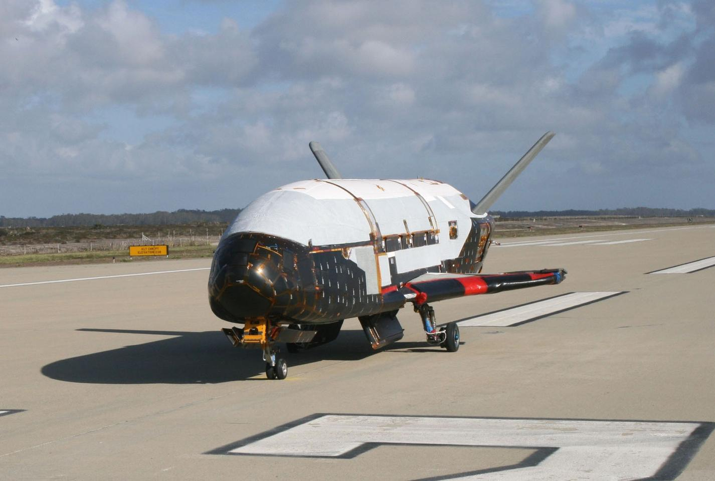The Hall thrusters that the X-37B will carry on its next mission are ion engines similar to the one on the Dawn deep space probe (Photo: US Air Force)
