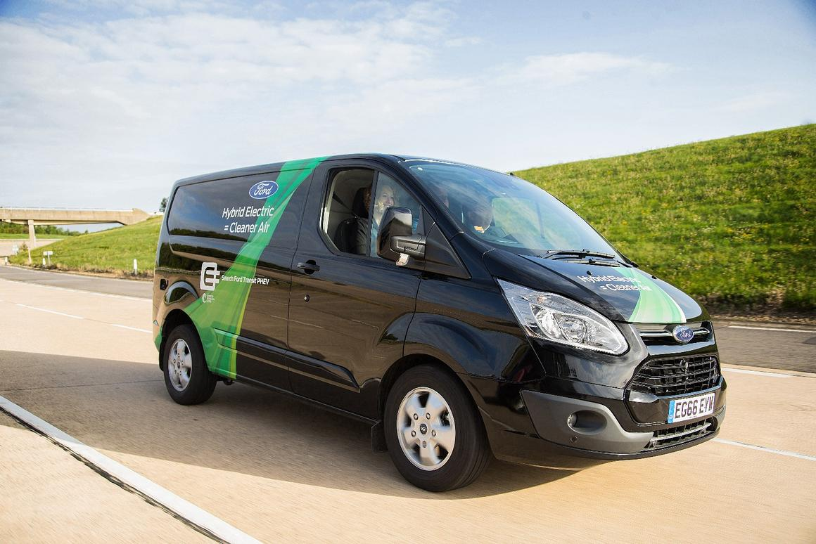 A fleet of 20 Ford Transit PHEVs will be trialed inLondon this year