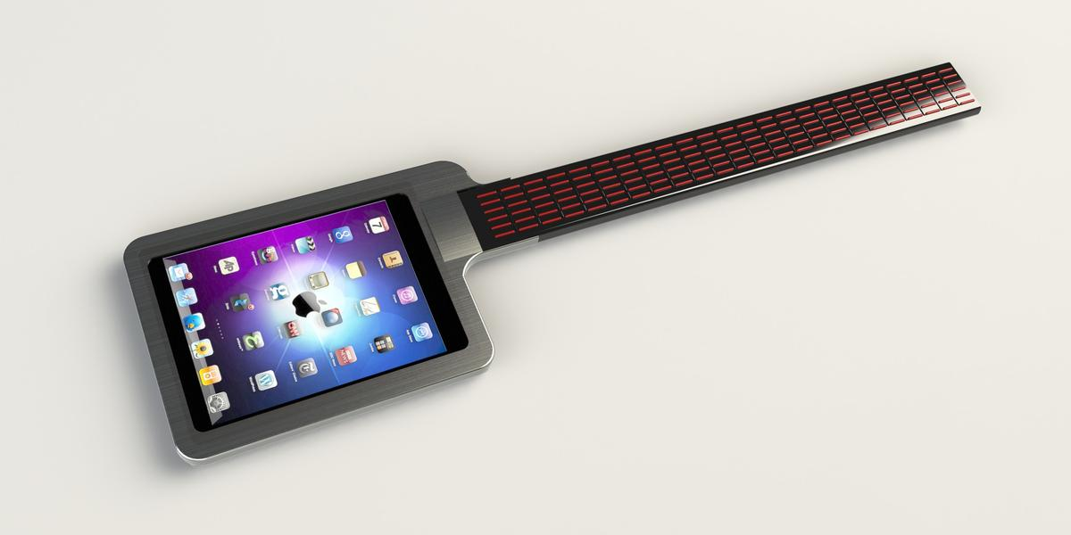 Starr Labs is developing a new iPad dock that uses the power and versatility of Apple's tablet, combined with its patented, button-based electronic guitar fingerboard to create a new digital instrument called the iTar