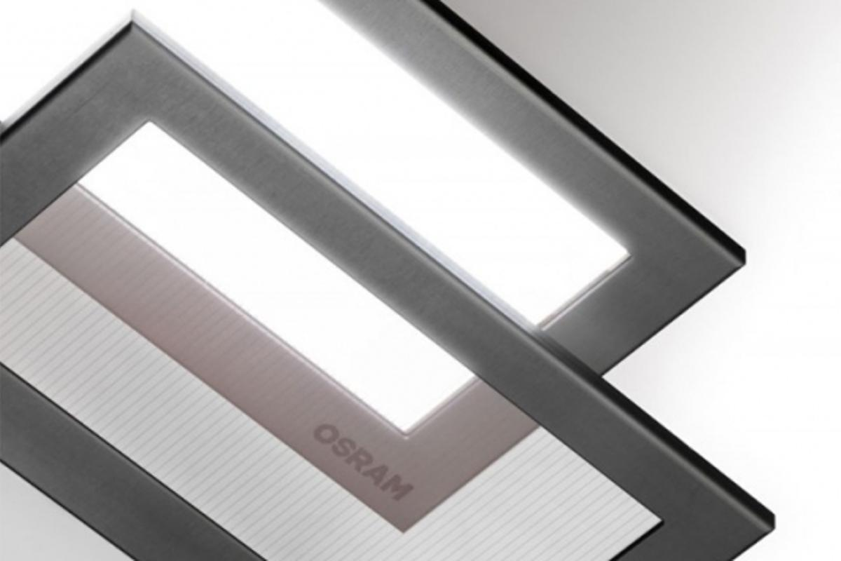 OSRAM's Transparent white OLED tile
