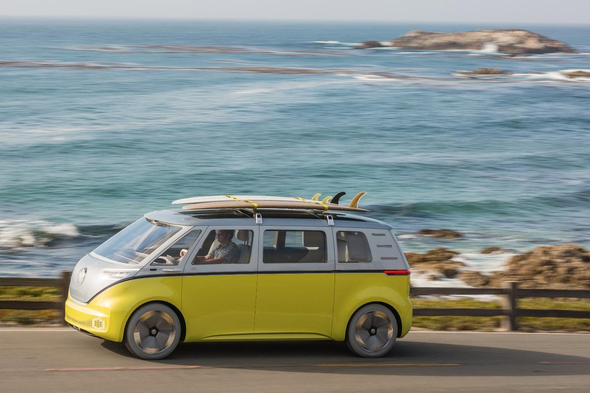 Volkswagen is set to put theI.D. Buzz into production in 2022