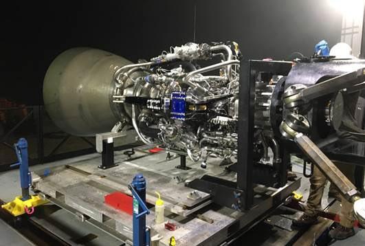 SpaceX's Raptor engine under development