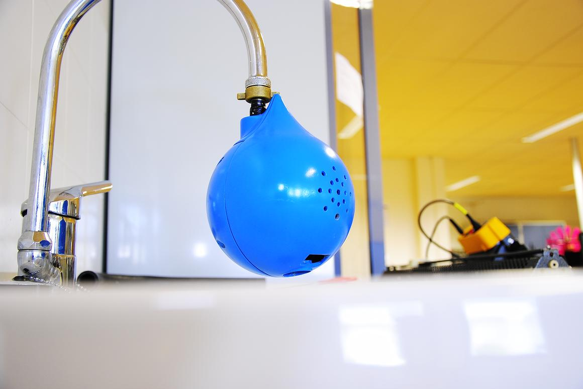 TipTapTop attaches to a faucet to make hand-washing more effective, more eco-friendly and more fun for kids