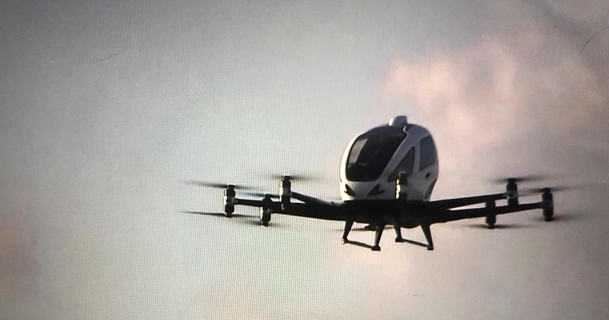 EHang flies into Spain to build air taxi test infrastructure