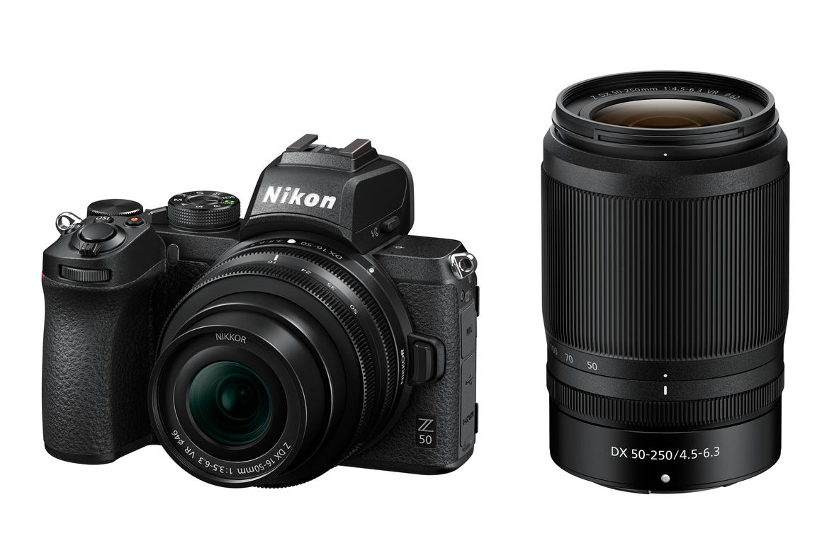 The Z 50 is Nikon's first DX-format mirrorless camera