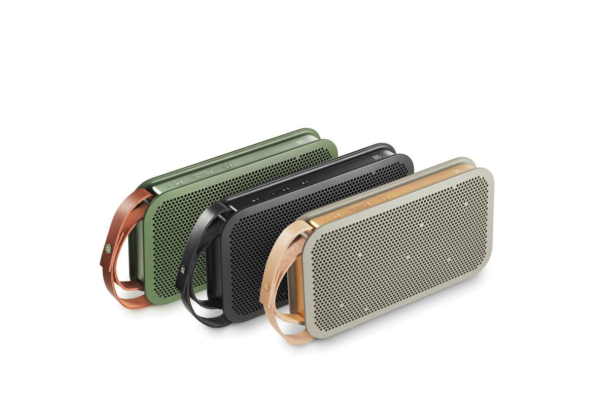 The BeoPlay A2 is Bang & Olufsen's first portable Bluetooth speaker