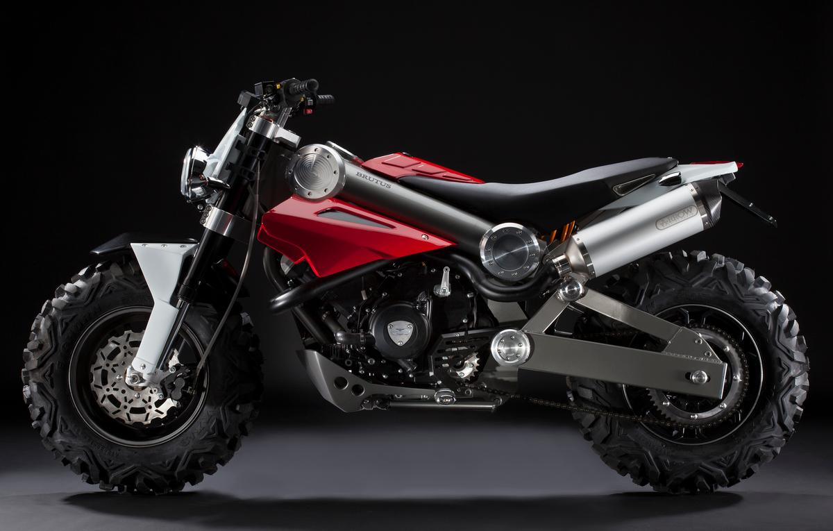 Brutus is claimed to be the Sports Utility Vehicle (SUV) of motorcycles