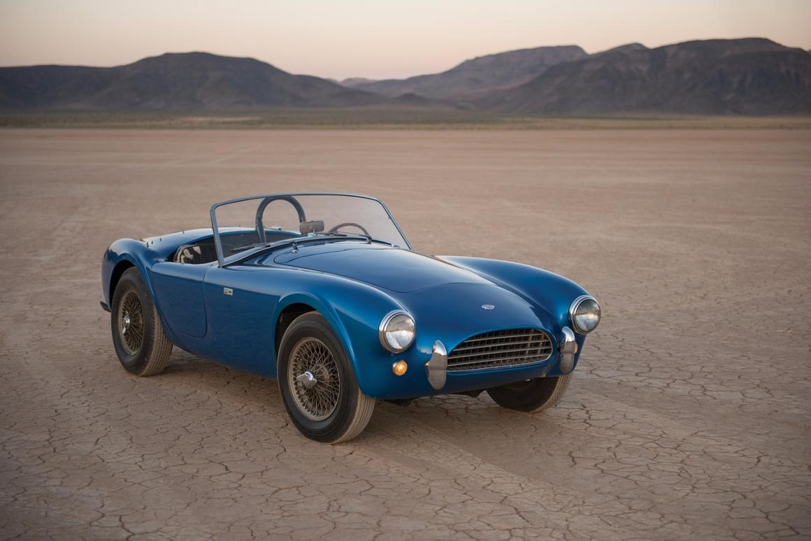 Back where it all began: Shelby's original Cobra, the CSX