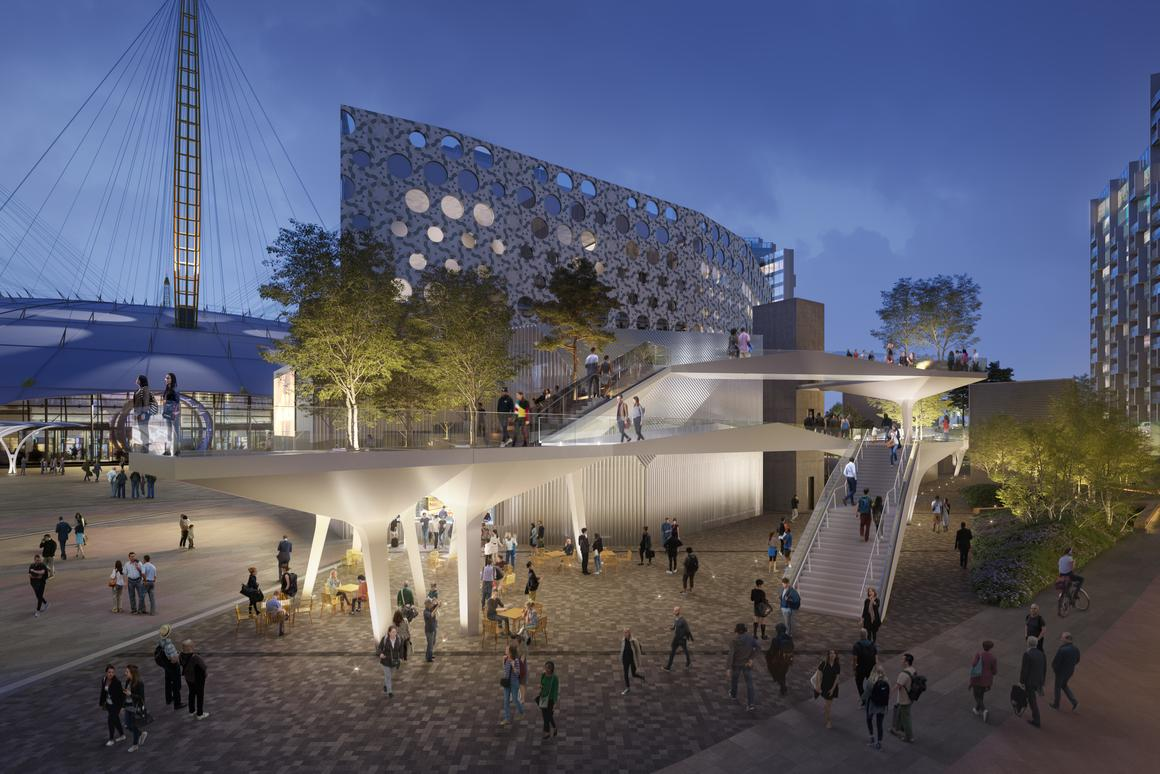 London's High Line-style elevated park to rise with the Tide