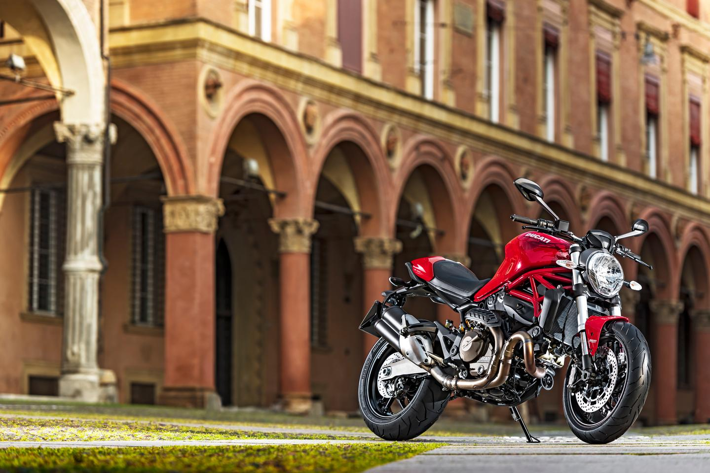 Ducati's gorgeous Monster 821 looks set to displace the last of the air-cooled Monsters from the lineup.
