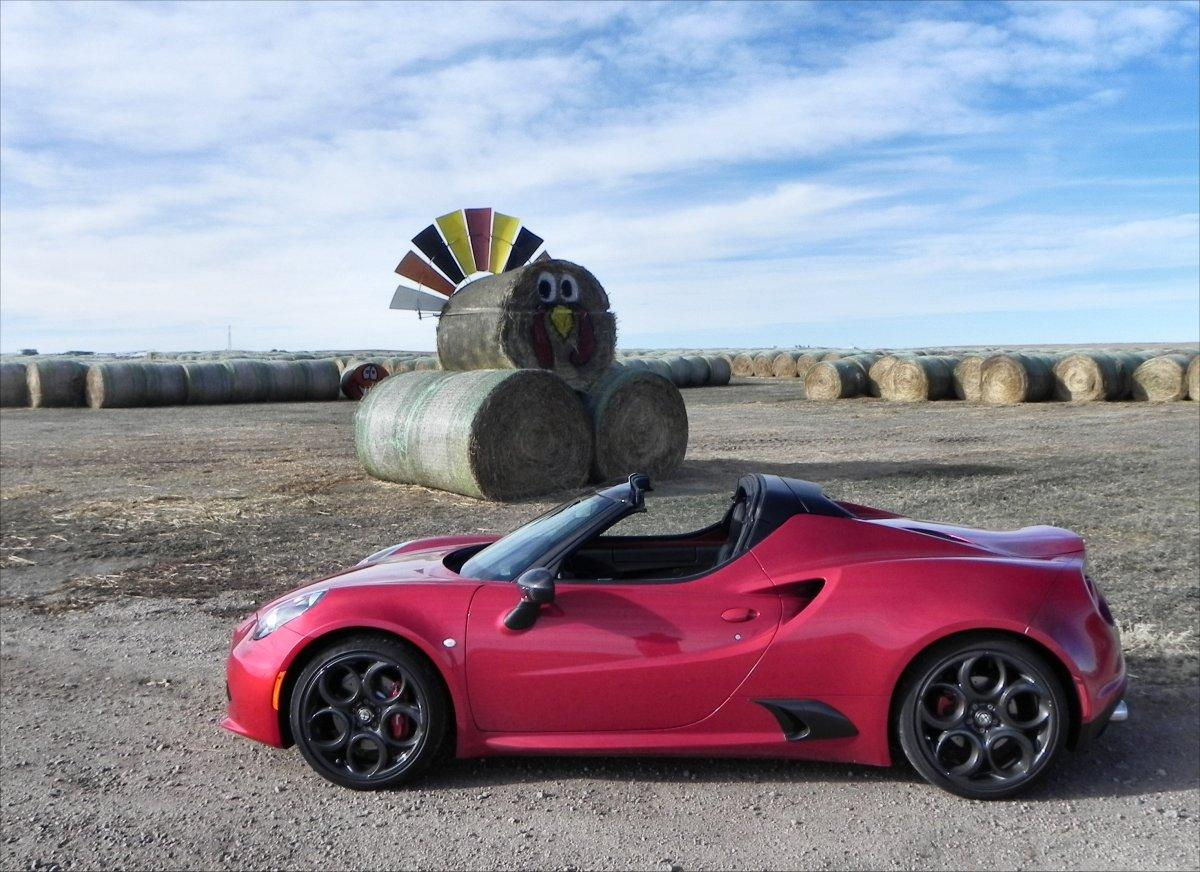 The Alfa Romeo 4C is a race car made for the track lover who would prefer not to haul the car to the track on a trailer