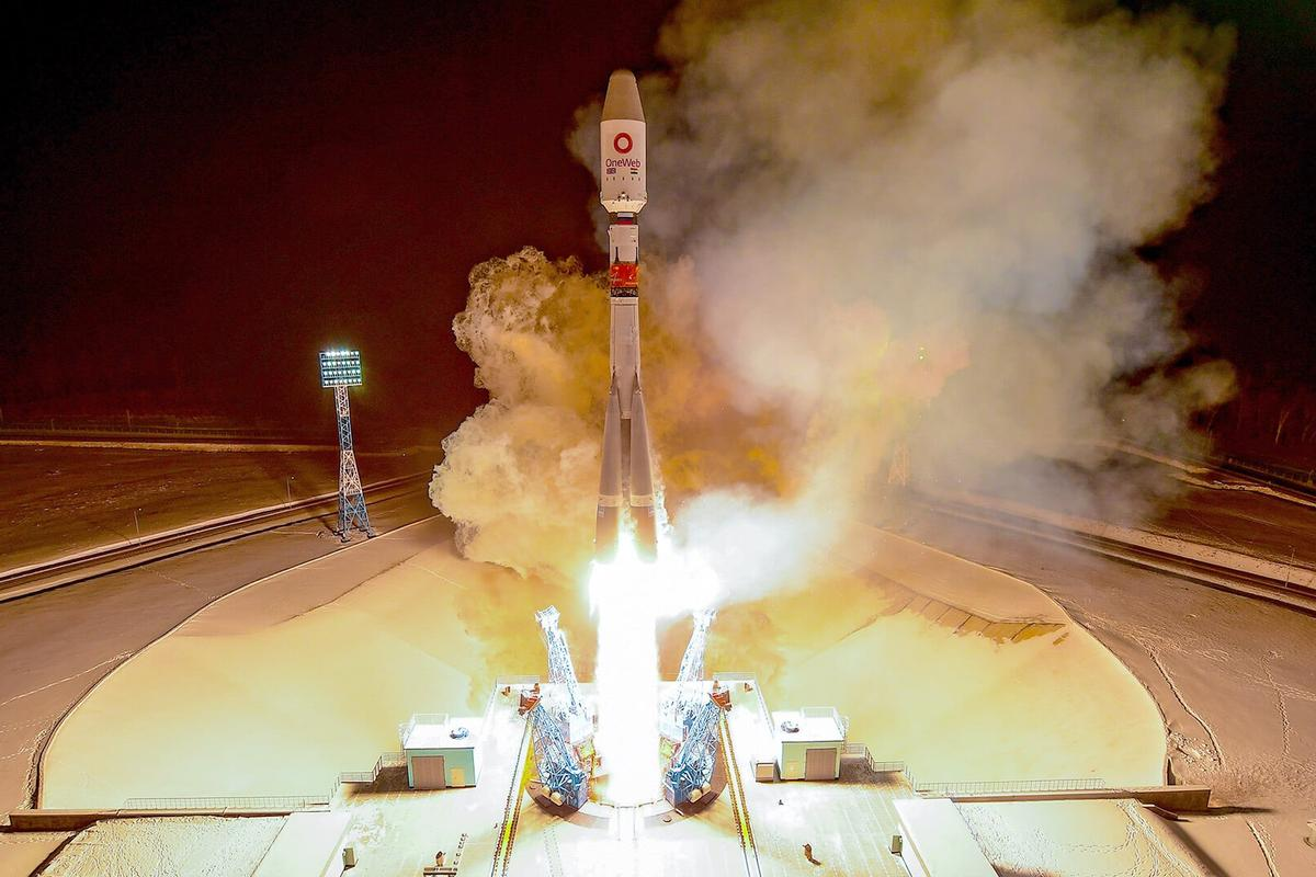 OneWeb's fourth launch, aboard a Soyuz rocket from the Vostochny Cosmodrome in the south-east of Russia, placed 36 more broadband satellites in low-Earth orbit