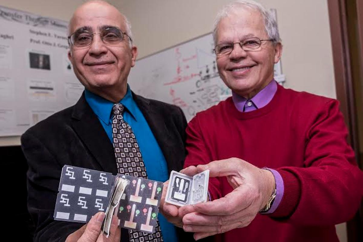 The paper lab on a strip can carry out complex diagnostics