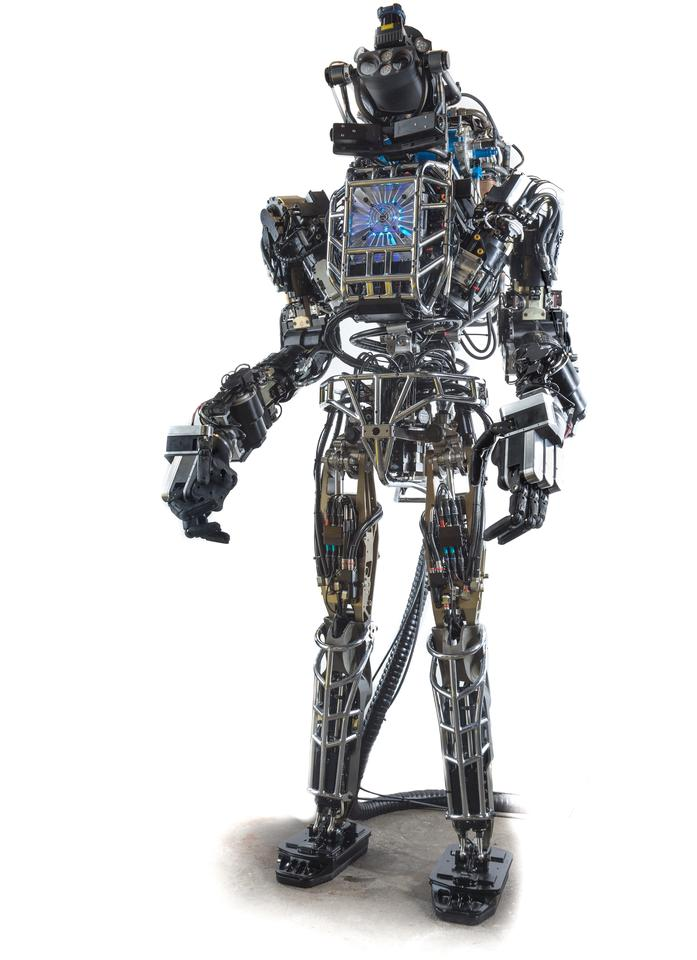 Boston Dynamics developed the ATLAS humanoid robot with funding from DARPA