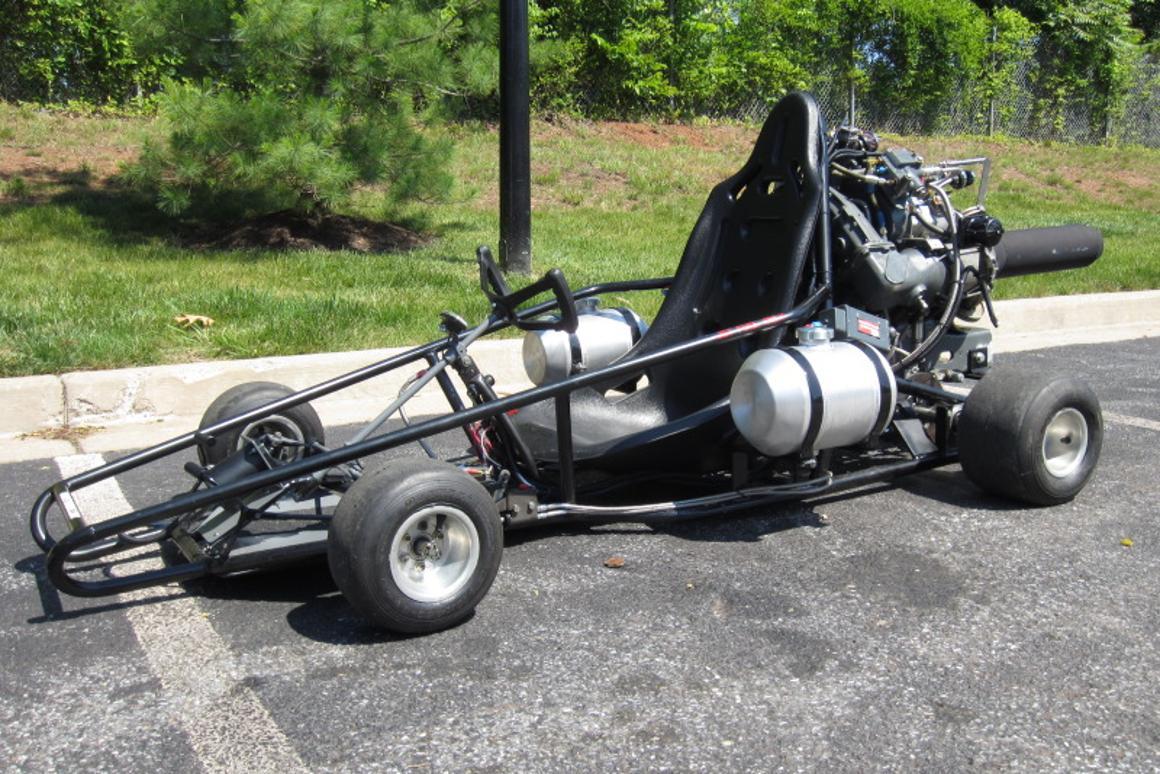 Pssst     you wanna buy a jet-powered go-kart?
