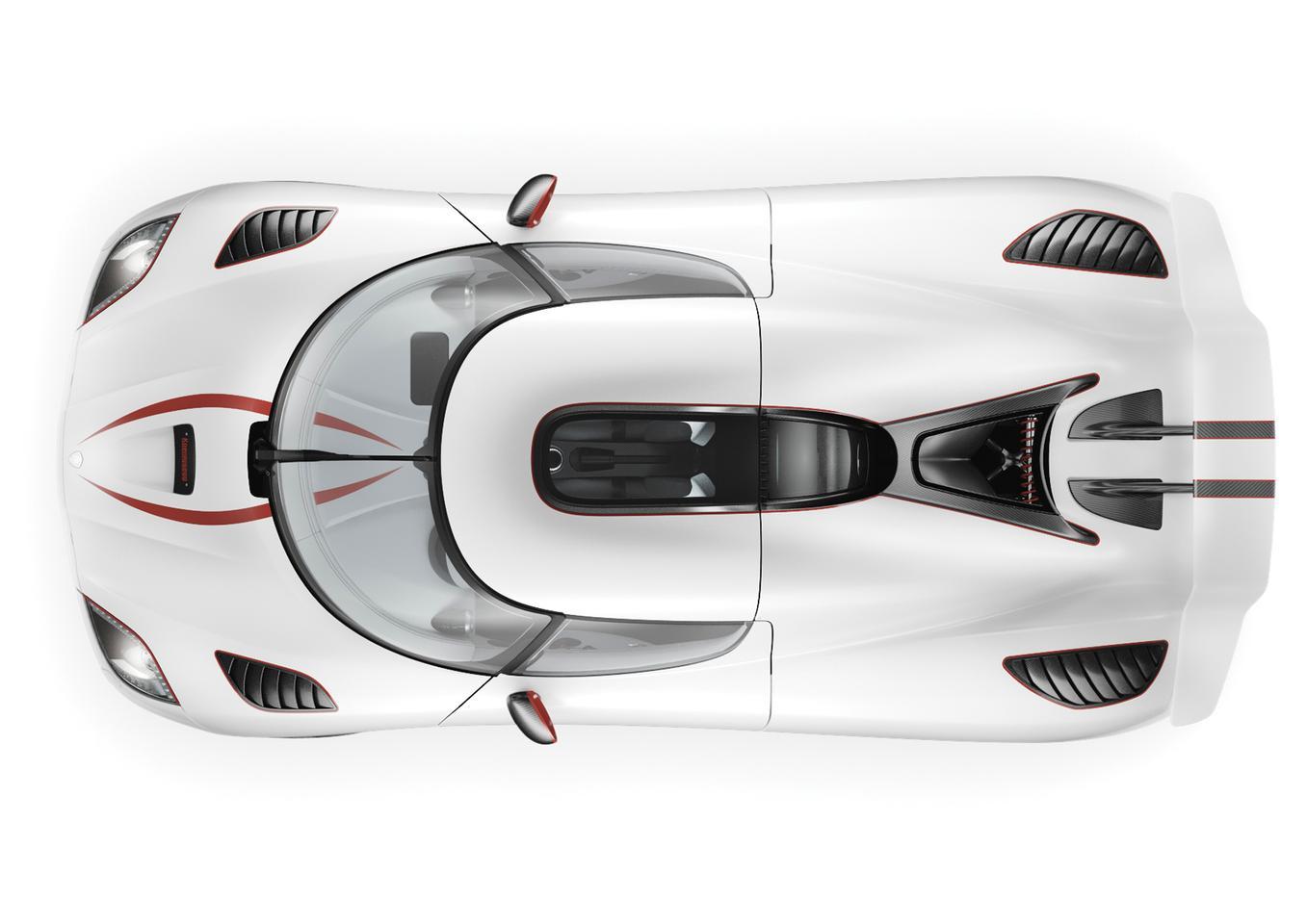 The 1100 bhp Koenigsegg Agera R