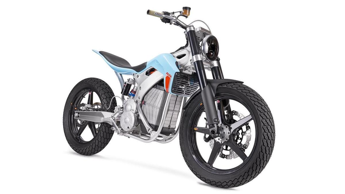 The Street Tracker is an electric flat track concept bike that could soon transform to a very tasty commuter by Alta Motors