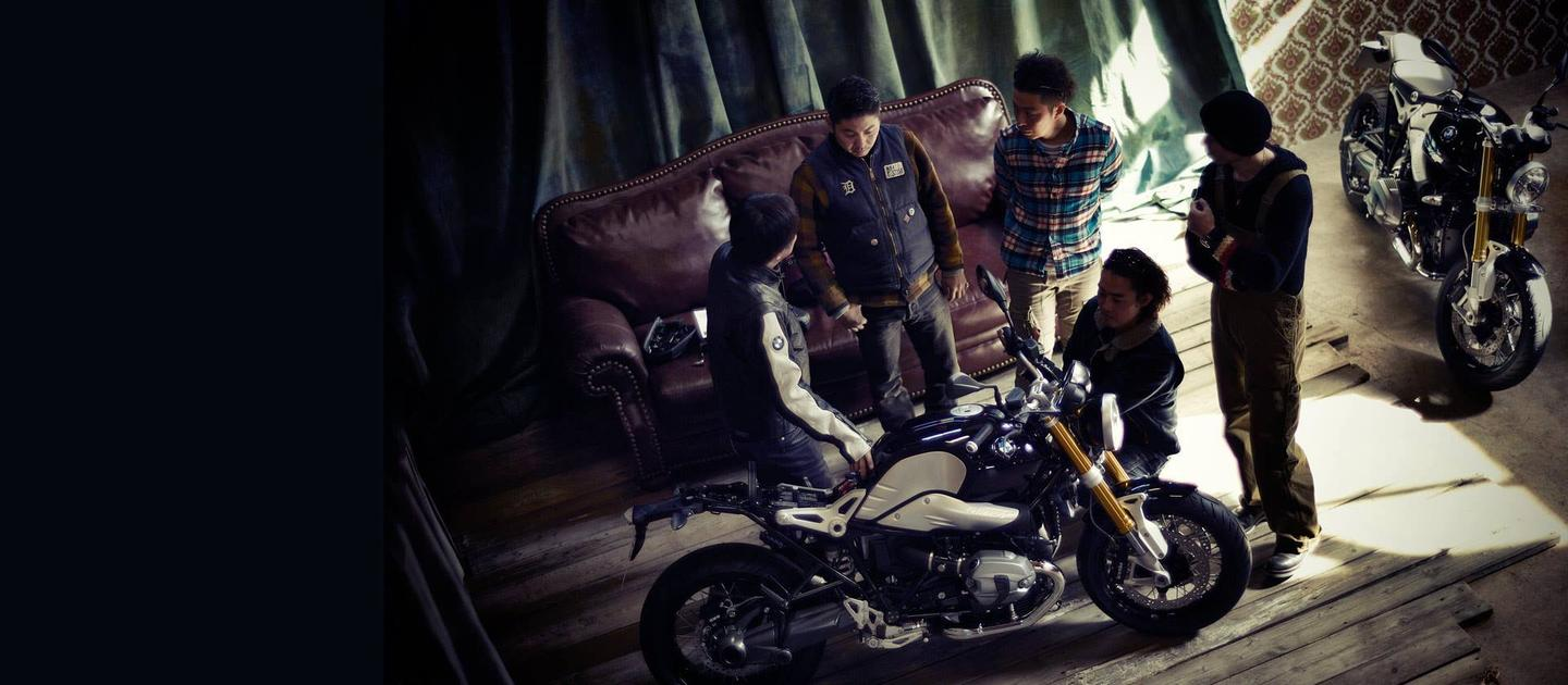 Project nineT Custom: the designers take a first look at the BMW R nineT