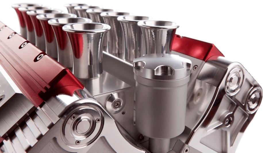 The Espresso Veloce Machine's oil-filler doubles as a grappa reservoir (Photo: Espresso Veloce)