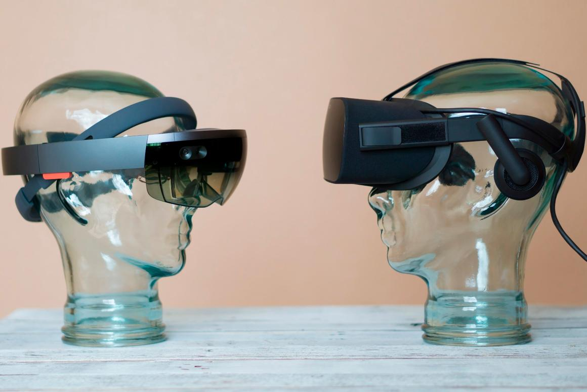 AR like HoloLens and VRlike the Rift will likely exist side-by-side, and maybe one day converge
