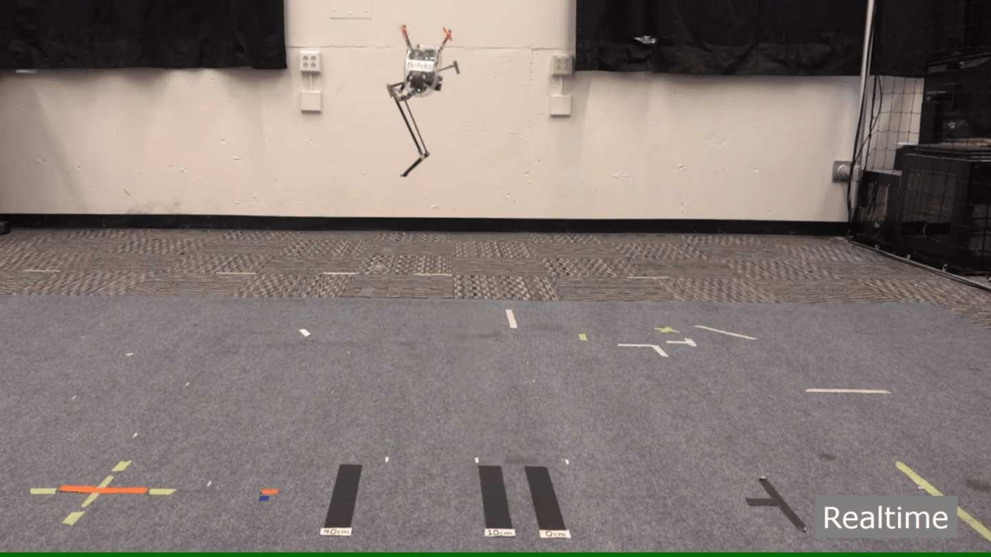Salto the jumping robot is now executing extremely precise landings