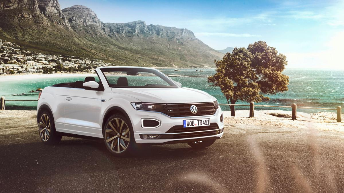 The T-Roc Cabriolet