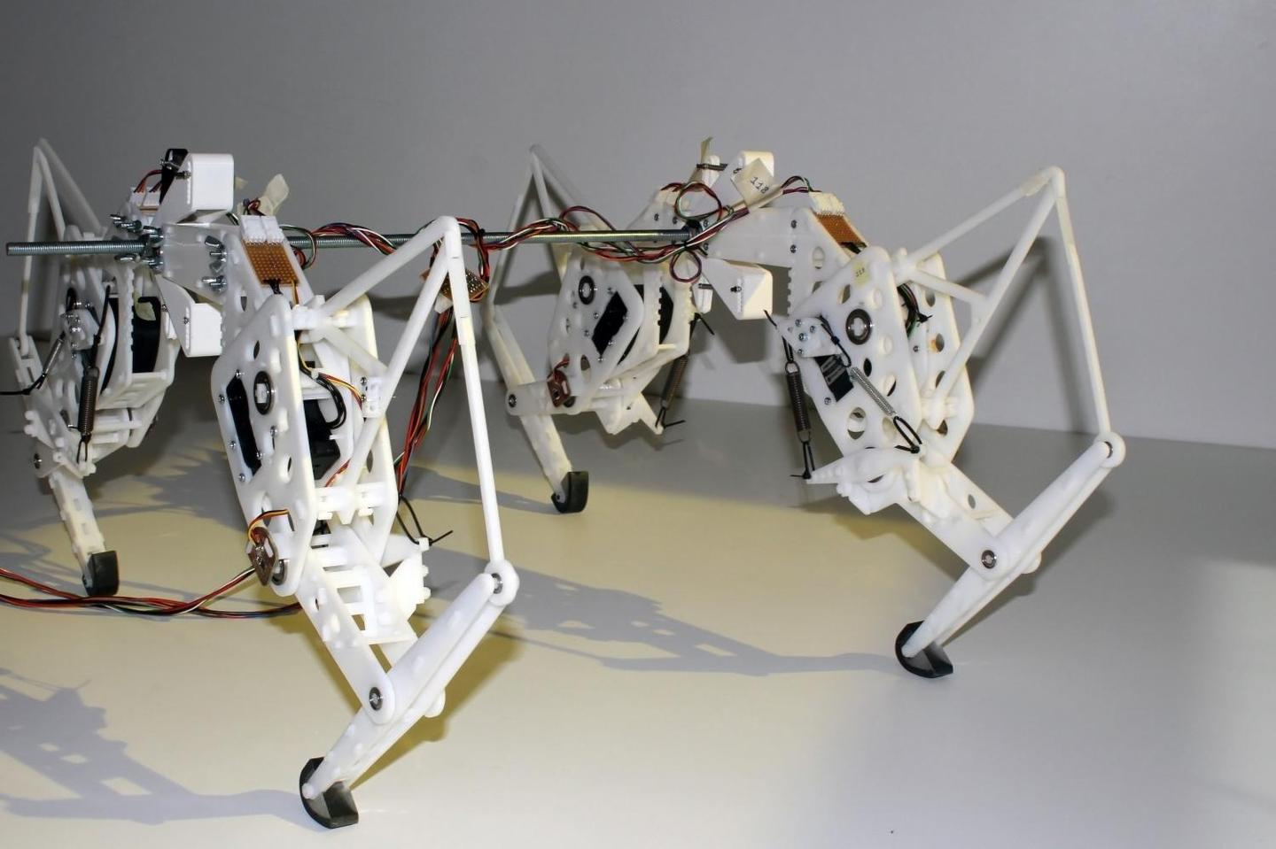 The robot cheetah uses only 15 percent more energy than its animal counterpart