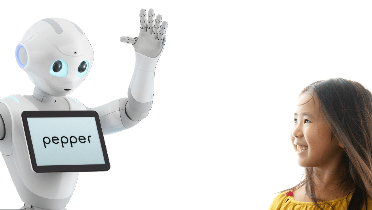 Pepper is a personal robot that can gauge human emotions for more natural human/robot interaction