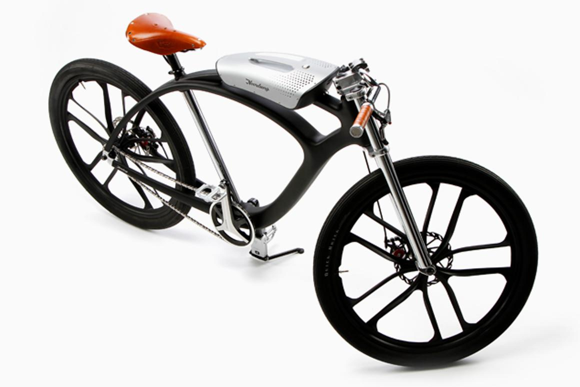 The Noordung e-bike is part bicycle, part boombox and part portable power pack