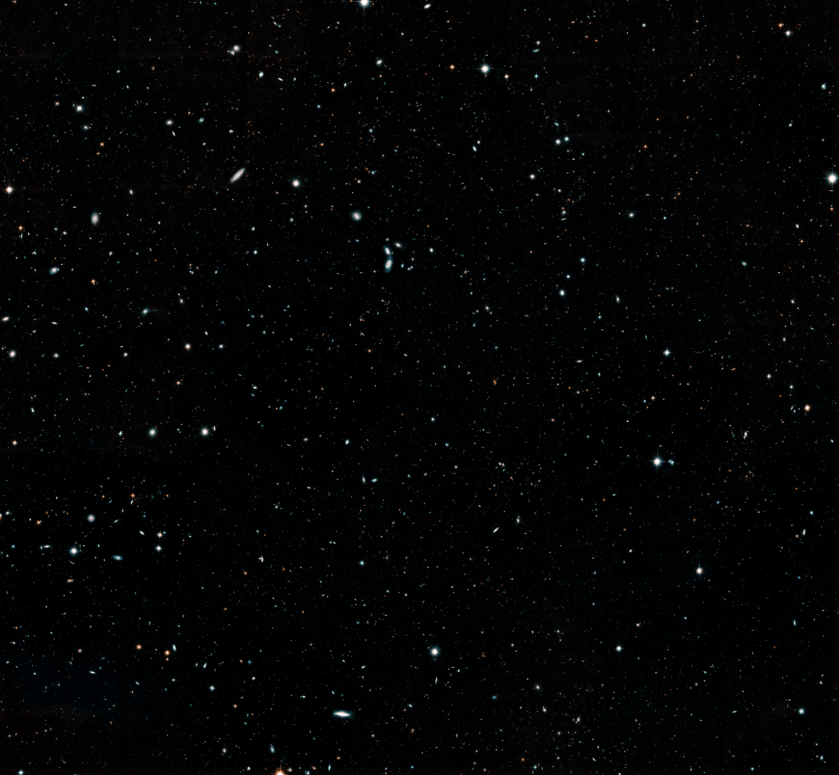 The Hubble Legacy Field contains over 265,000 galaxies.Credit:NASA, ESA, G. Illingworth and D. Magee (University of California, Santa Cruz), K. Whitaker (University of Connecticut), R. Bouwens (Leiden University), P. Oesch (University of Geneva,) and the Hubble Legacy Field team