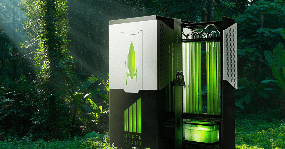 Algae-fueled bioreactor soaks up CO2 400x more effectively than trees
