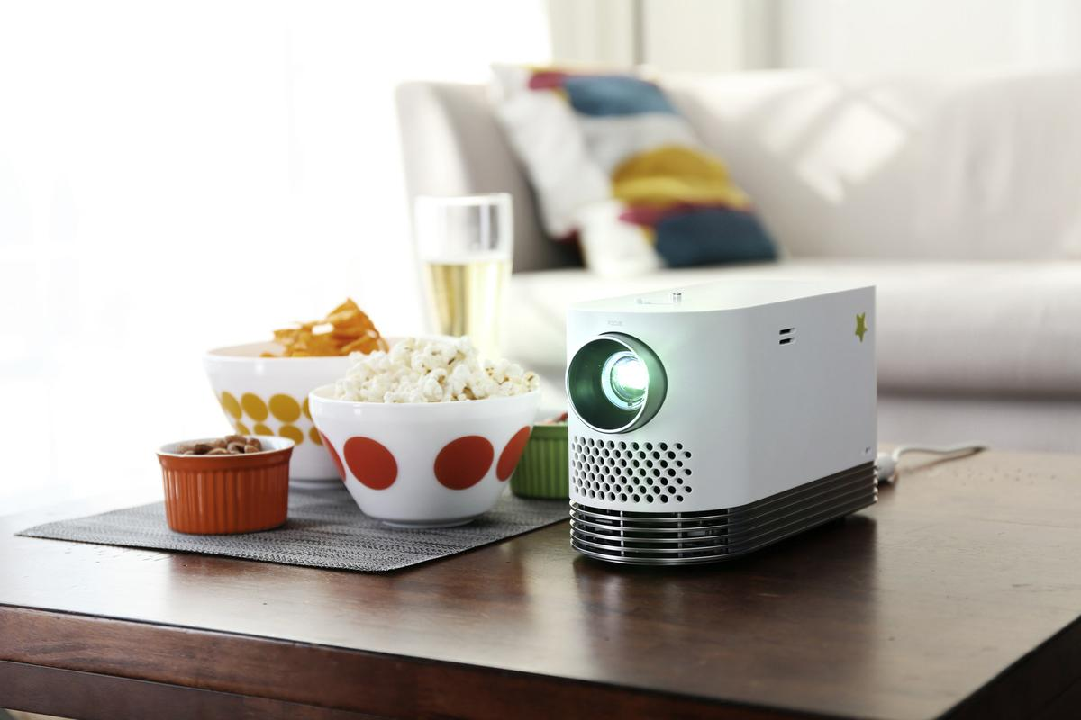 LG's ProBeam laser projector has hit the shelves with the relatively affordable price tag of $US1,499.